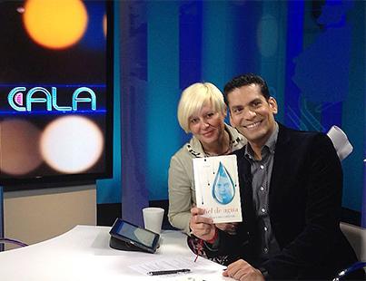 Estrella Flores-Carretero con Ismael Cala