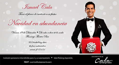 Invitación Ismael Cala